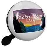 Small Bike Bell Lake retro design Broken Bow Lake - NEONBLOND