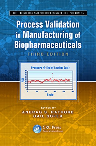 Process Validation in Manufacturing of Biopharmaceuticals (Biotechnology and Bioprocessing)