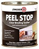 Zinsser Peel Stop Clear Binding Sealer Water Based Exterior, Interior Clear 1 Qt