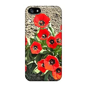 diy phone caseAwesome Case Cover/iphone 5/5s Defender Case Cover(red Tulips)diy phone case