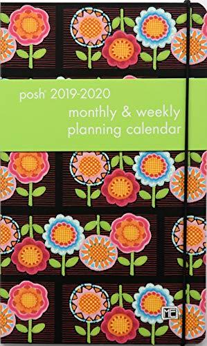 Posh: Flower Power 2019-2020 Monthly/Weekly Planning Calendar (Calendar Mary Engelbreit)