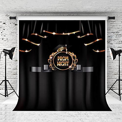 Kate 8x8ft Prom Night Backdrop for Photography Graduation Night Party Background Graduation Party Decor Banner -
