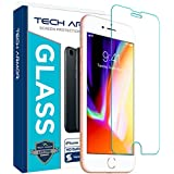Tech Armor Apple iPhone 7, iPhone 6, iPhone 8 Ballistic Glass Screen Protector [1-Pack]