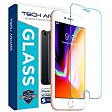 Image of Tech Armor Apple iPhone 6, 6s, iPhone 7, iPhone 8 Ballistic Glass Screen Protector, Premium Tempered Glass with 99.99% HD Clarity and 3D Touch Accuracy, Clear [1-Pack]