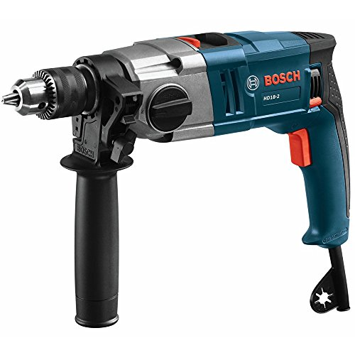 Bosch HD182RT 8.5 Amp 1 2 in. Two-Speed Hammer Drill Renewed