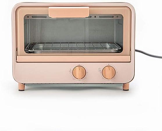 Horno digital, descongelación Express para cocinar multifrecuencias, temperatura, fácil de limpiar, protección apagada, voltaje automático, 9 litros, 800 W, rosa [Clase energética E]: Amazon.es: Hogar
