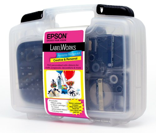 Epson LabelWorks Printable Ribbon Kit (C51CB69140)](Label Works Iron On)