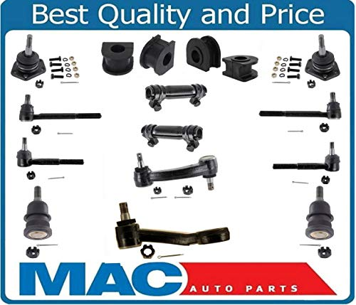 Mac Auto Parts 142641 G G G G25 GM Vans Pc Chassis Kit Ball Joints Tie Rods