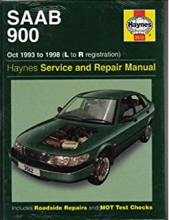 H3512 SAAB 900 2.0 2.3 Liter Turbo 1993-1998 Haynes Repair Manual