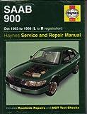 H3512 SAAB 900 2.0 2.3 Liter Turbo 1993-1998 Haynes Repair Manual
