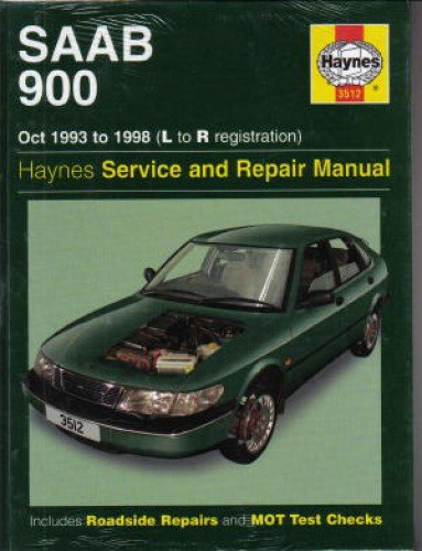 H3512 SAAB 900 2.0 2.3 Liter Turbo 1993-1998 Haynes Repair Manual ()