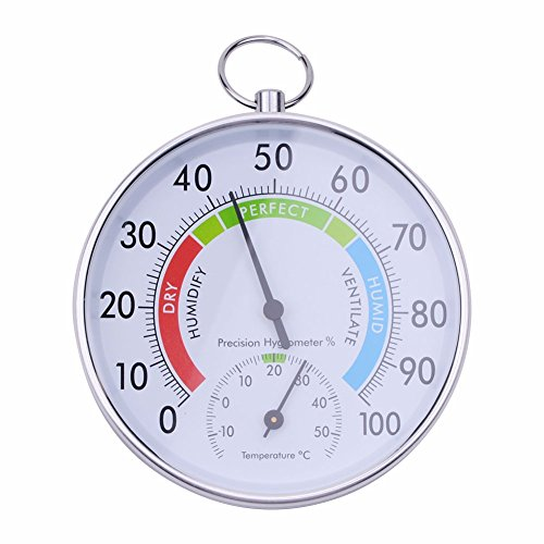 Factory Navigation Monitors (Stingna New 10CM Indoor Outdoor Thermometer Hygrometer Temperature Meter quality Large Round Hygrometer and Thermometer)