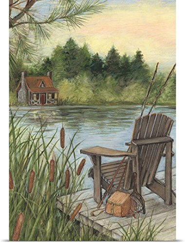 Susan Winget Poster Print entitled Lakeside