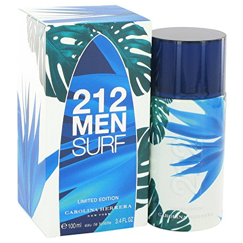 212 Surf Cologne For Men by Carolina Herrera Eau De Toilette Spray ( Limited Edition 2014) 3.4 oz 100 ml. [WP] Free! Sample Perfume Bcbg Max Azria 0.05 oz Vial (Ch Carolina Herrera Belt compare prices)