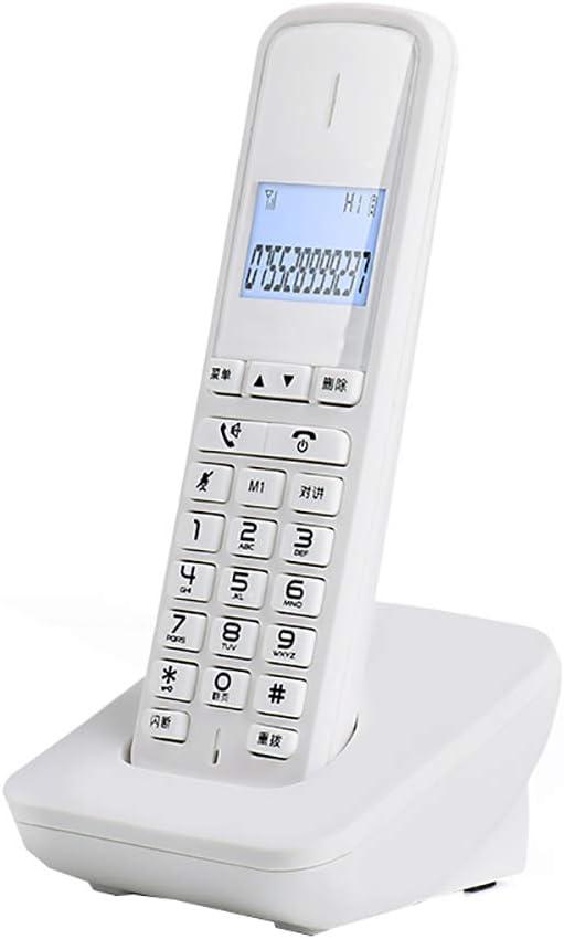 Teléfono inalámbrico escalable del teléfono inalámbrico con la identificación de Llamadas en Espera, el teléfono móvil Puede intercomunicador (45 * 25 * 158 mm): Amazon.es: Hogar
