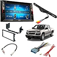 JVC KW-V140BT Double Din BT In-Dash DVD/CD/AM/FM Stereo + Car Radio Stereo CD Player Dash Install Mounting Trim Panel Kit Harness Antenna