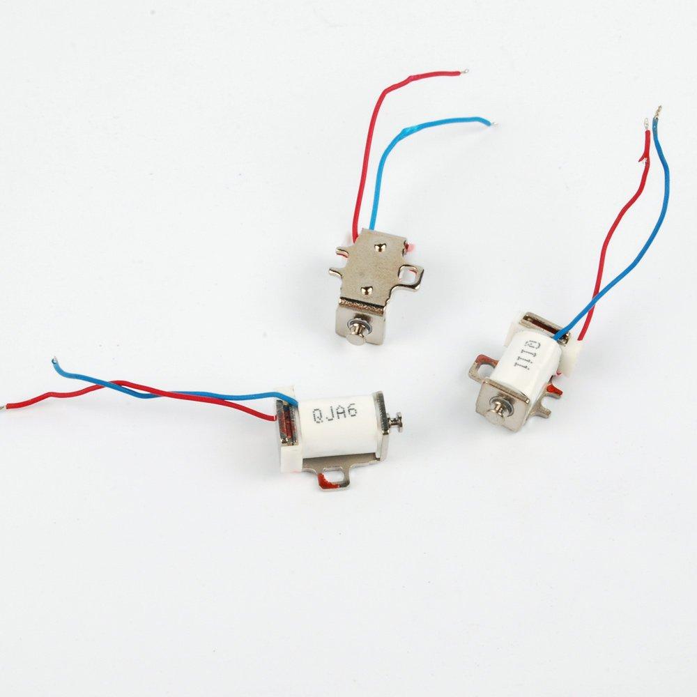3pcs DC5V-6V 350mA Force Pull Type Micro Solenoid Electromagnet 235Nm Mini Electromagnetic brake