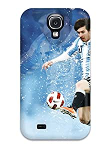 Galaxy Cover Case - Messi Photos In Argentina Protective Case Compatibel With Galaxy S4