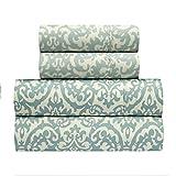 waverly sheets - Traditions by Waverly Duncan Spa 4-Pc. Bedding Sheet Set, Aqua, King