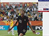 Abby Wambach Signed Autograph 8x10 Photo PSA/DNA COA #2