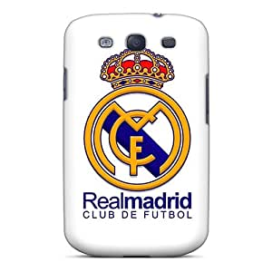 Samsung Galaxy S3 BvT10129bkIe Unique Design Lifelike Fc Real Madrid Series Protector Hard Cell-phone Case -AlissaDubois