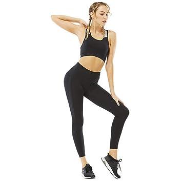 WYLYJTZ Pantalones de Yoga Joker para Mujer Conjunto de Yoga ...