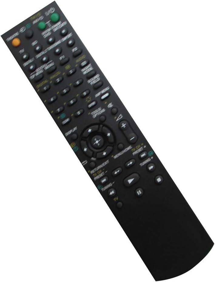 HCDZ Replacement Remote Control Fit for Sony STR-KS2000 STR-DE595 STK-KG700 STR-KM5000 DVD AV Home Theater System A/V Receiver
