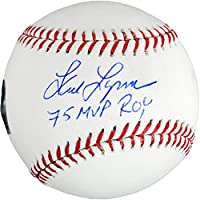 fan products of Fred Lynn Boston Red Sox Autographed Baseball with