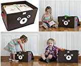 Katabird Storage Bin for Toy Storage, Collapsible Chest Box Toys Organizer with Lid for Kids Playroom, Baby Clothing, Children Books, Stuffed Animal, Gift Baskets