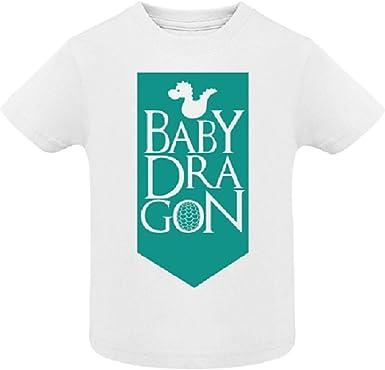 AKARURE Camiseta niño/a Baby Dragon - Juego de Tronos - Desde 6 Meses hasta 6 años: Amazon.es: Ropa y accesorios