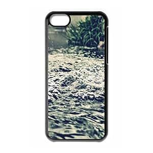 Iphone 5C Case, water 13 Case for Iphone 5C Black