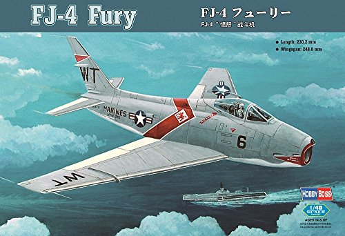 Hobby Boss FJ-4 Fury Jet Fighter Airplane Model Building Kit