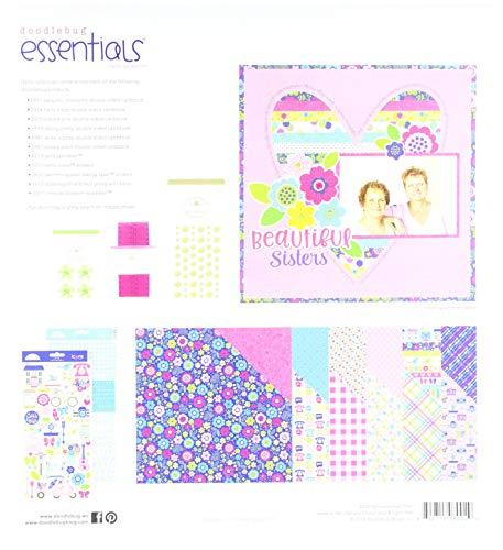 Doodlebug Designs Cardstock Alphabet Stickers - Doodlebug 6002 Hello Essentials Kit