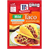 McCormick 30% Less Sodium Mild Taco Seasoning Mix, 1 oz