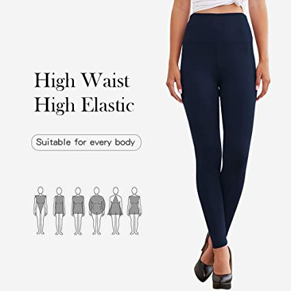 Century Star High Waisted Leggings for Women Tummy Control Winter Thick Workout Leggings One//Plus Size