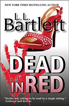 Dead In Red (The Jeff Resnick Mysteries Book 2) by [Bartlett, L.L.]