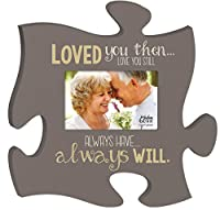 Always Will Always Have Loved You 4x6 Photo Frame Inspirational Puzzle Piece Wall Art Plaque