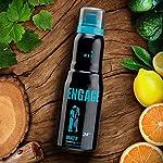 Engage Mate Deodorant For Men, Citrus and Fresh, Skin Friendly, 150 ml