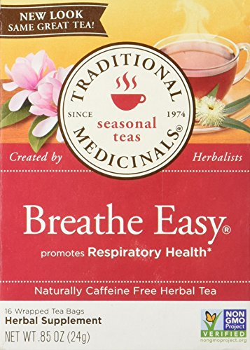 Traditional Medicinals Breathe Easy 16 Tea Bags (Pack of 2)