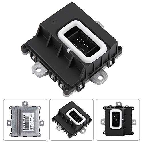 KIMISS Automobile Headlight Adaptive Drive Control Unit Module Headlight Control Module [Aluminum & ABS Platic] for E46 E90 E60 E65, etc. (black):