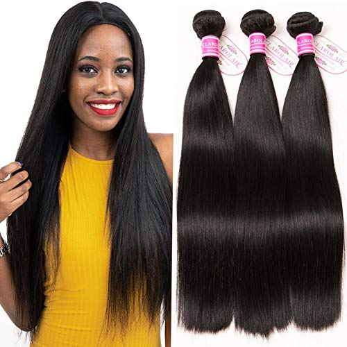 9A Brazilian Straight Hair 3 Bundles 16 14 12 Inch Straight Virgin Brazilian Hair Straight Bundles Straight Human Hair Bundles Natural Color 300g from CLAROLAIR