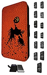 694 - Witch Pumpkin Halloween Leather Design Fashion Trend Credit Card Holder Purse Wallet Book Style Tpu Leather Flip Pouch Case Samsung Galaxy S3 i9300