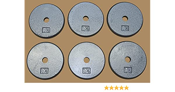 10-1.25lb Total 37.5 lbs TDS OLYMPIC PLATE PACKAGE 10-2.5lb