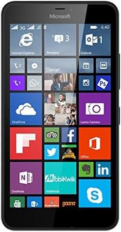 Lumia 640 XL Windows 8.1 Smartphone with 13MP Camera,  4G LTE 8GB,  5.7-Inch, Black (AT&T)