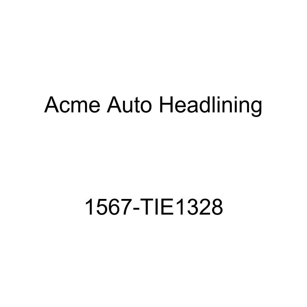 Acme Auto Headlining 1567-TIE1328 Red Replacement Headliner 1957 Pontiac Chieftain, Star Chief, Super Chief 2 /& 4 Dr Sedan, 7 Bow