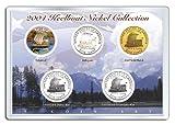 2004 KEELBOAT NICKEL Westward Journey 5-Coin U.S. Set P&D Hologram Colorized 24K