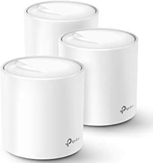 TP-Link Deco WiFi 6 Mesh WiFi System(Deco X20) - Covers up to 5800 Sq.Ft. , Replaces WiFi Routers and WiFi Extenders, Works with Alexa, 3-Pack