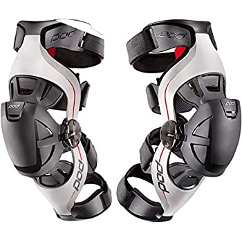 668e4ea86f POD K4016-595-XL/2X Unisex-Adult K4 Knee Brace (Grey/Red, X-Large/XX-Large)  (Pair)