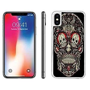 iphone x case iphone xs hard back case skull. Black Bedroom Furniture Sets. Home Design Ideas