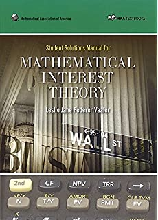 Student problem manual for derivatives markets robert l mcdonald student solution manual for mathematical interest theory maa textbooks fandeluxe Images